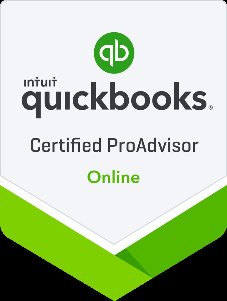 QuickBooks Online Pro advisor badge
