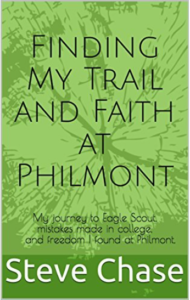 Finding my trail and faith at Philmont book cover
