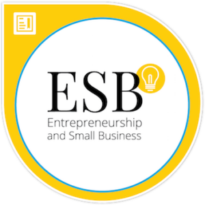 Entrepreneurship and small business certificate